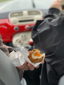 car food in Scotland pic: Kerstin Rodgers