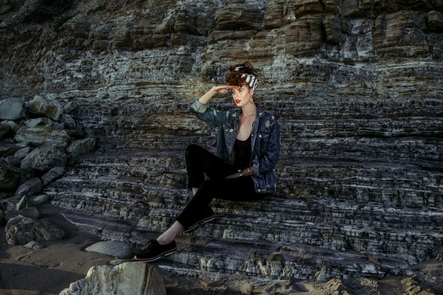 Sailor, Salute, Stripes, Rocks, Texture, Denim, Vintage, Fashion, Beauty,