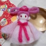 羊毛フェルトの作り方 指人形「天女」物語・伝説から「かぐや姫」「四神」
