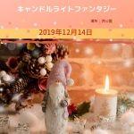 仙台 キャンドルライトファンタジー2019.12.14(土) 西公園 冬の幻想