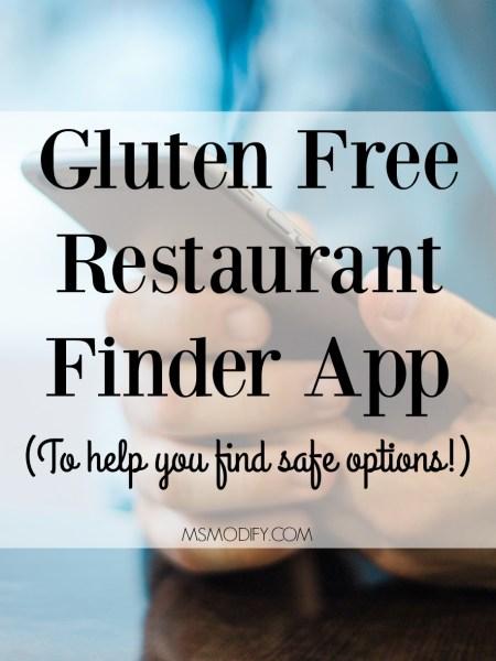 Gluten Free Restaurant Finder App