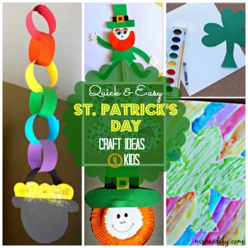 St Patricks Day Crafts Msmodify