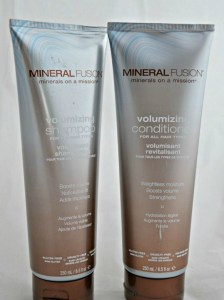 mineral fusion shampoo and conditioner
