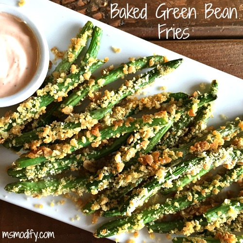 Baked Green Beans Fries