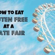 Gluten Free at a State Fair