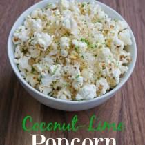 coconut-lime popcorn