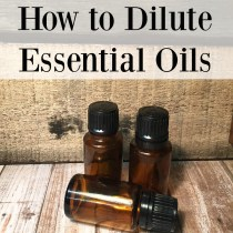 How to Dilute Essential Oils