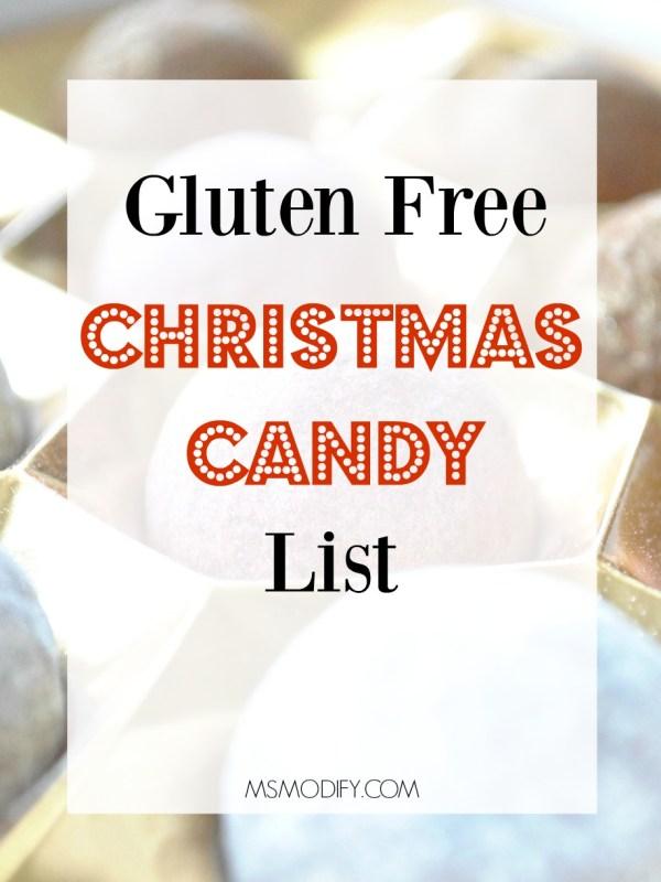 gluten free Christmas candy list