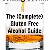 Coming Soon Gluten Free Alcohol Guide