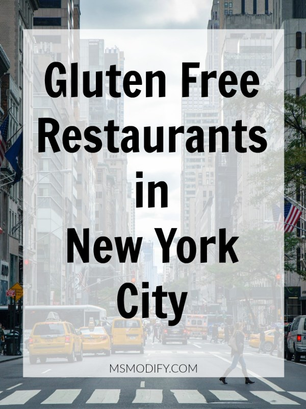 Gluten Free Restaurants in New York City
