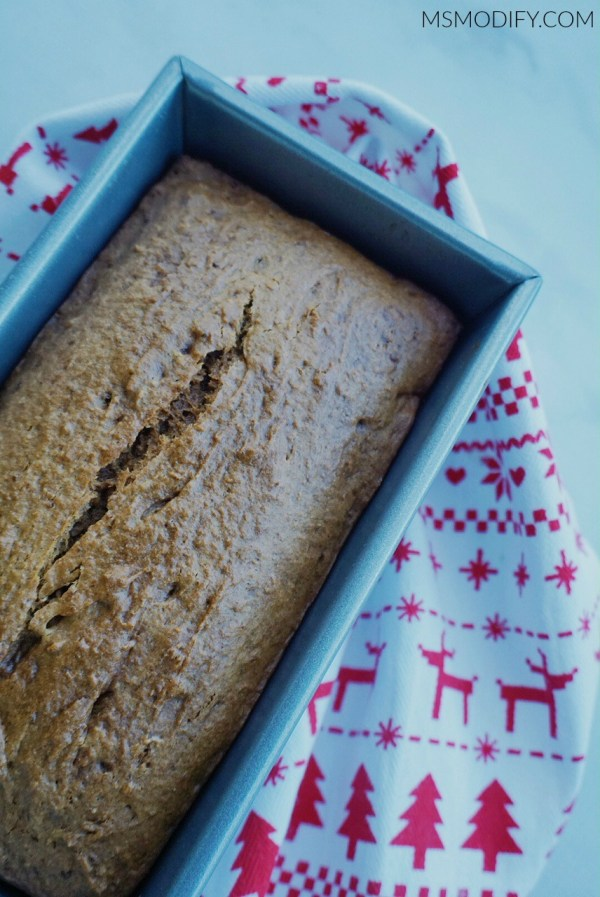 Gluten Free Gingerbread Loaf