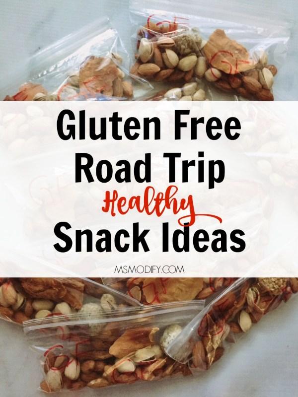 Gluten Free Road Trip Snack Ideas