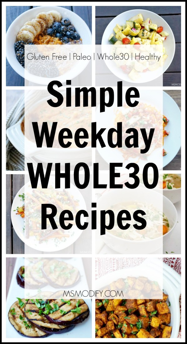Simple Whole30 Recipes