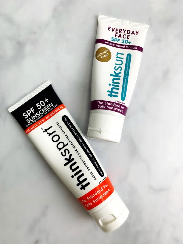 sunscreen routine
