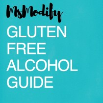 MsModify Gluten Free Alcohol Guide Cover