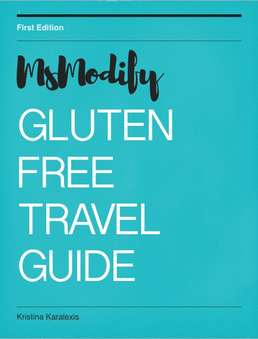 Gluten Free Travel Guide Cover