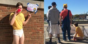 ABDL Alt-right protest Turning Point USA Kent Sate