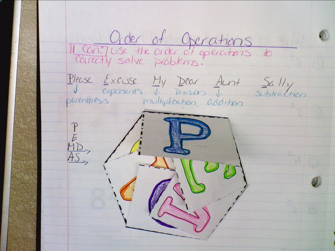 Inb Pages 33 34 Order Of Operations