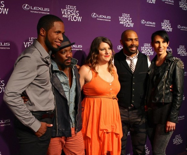 Marshall Jones Megan Falley Anthony Hamilton & Omari Hardwick