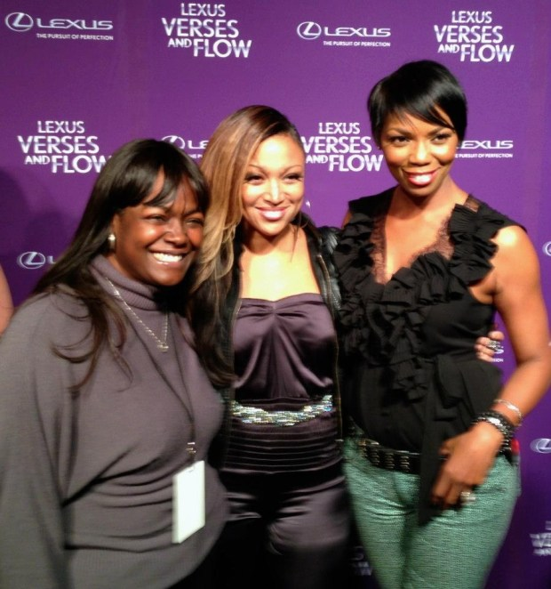 MsNix Chanti Moore & Vanessa Williams