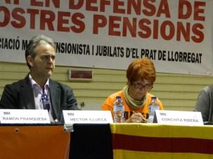 La companya Conchita i el Doctor en Dret i Inspector de Treball i Seguretat Social, Hector Illueca.