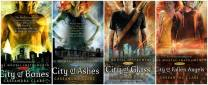 Cassandra Clare books have some of the most beautiful covers! So much color and detail!
