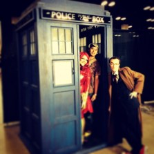 We met the doctor!