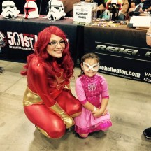 Me with little spider girl
