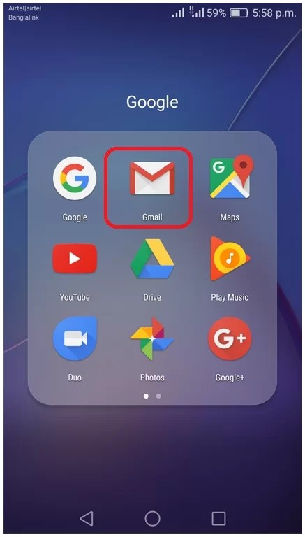 Turn off gmail app notifications on android phone