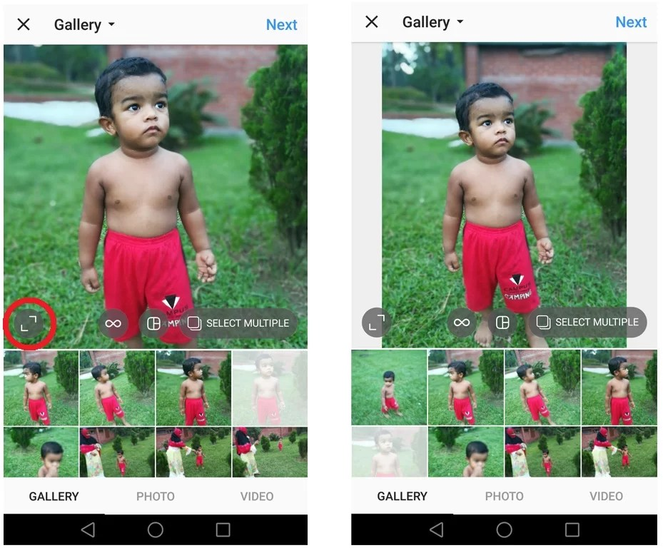 img3 how to upload full size photos on instagram without apps