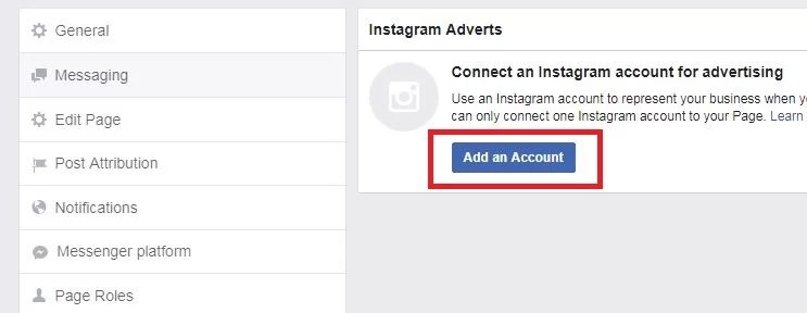 connect instagram with facebook step 5