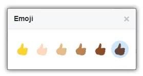 select emoji color