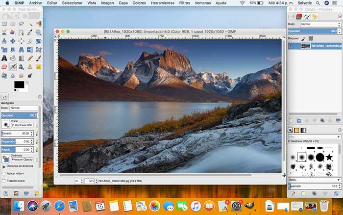 GIMP Photoshop for MAC 2018