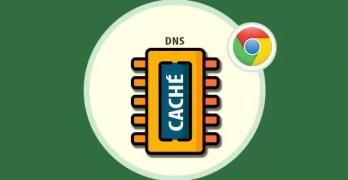 google clear chrome dns cache