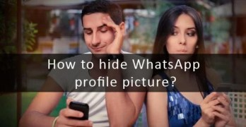 hide whatsapp profile picture