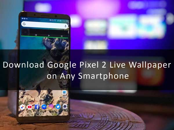 how to download pixel 2 wallpaper