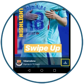 Download Instagram Stories without screenshot step 2
