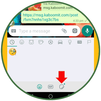 Upload WhatsApp Sticker