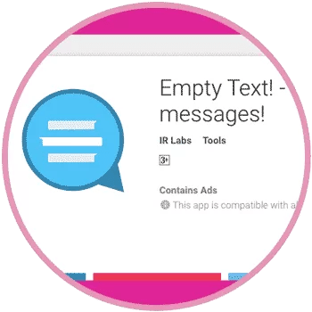 Empty Text Android App WhatsApp