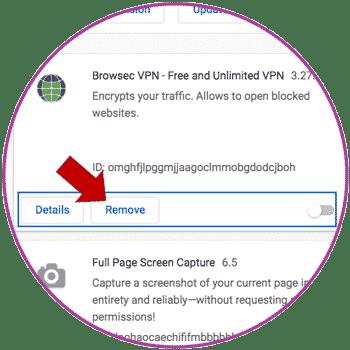 Remove Chrome Extension