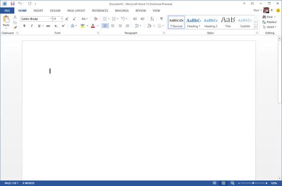 Metro Office 15 Word 1