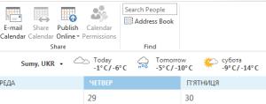 weather Outlook 2013