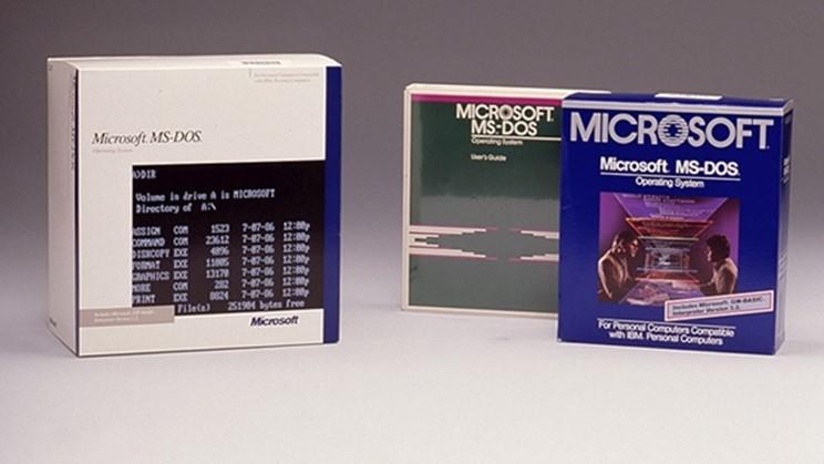 Исходный код MS-DOS и Word
