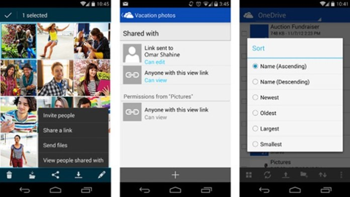 OneDrive for Android