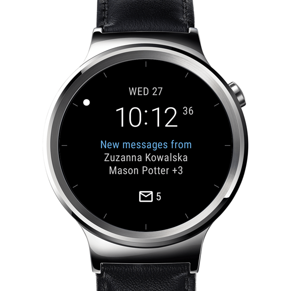 Outlook watch face для Android Wear