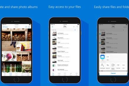 В приложение OneDrive для iOS добавлена поддержка анимированных GIF картинок