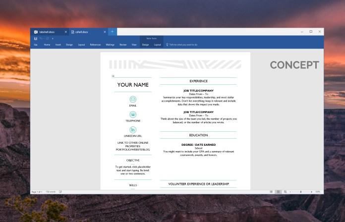 Внутренний концепт Microsoft