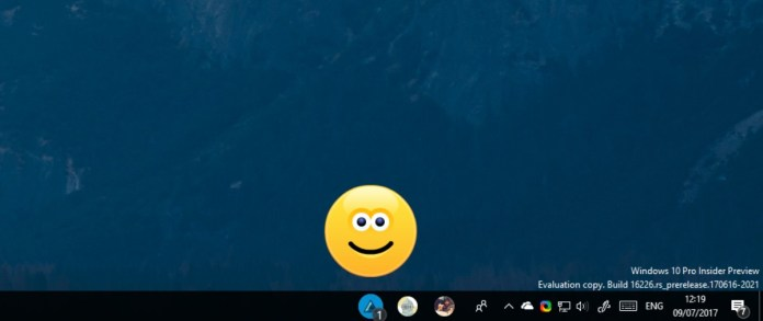 Windows 10 Fall Creators Update контакты на панели задач