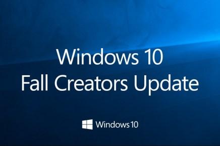 Очень субъективный видео обзор Windows 10 Fall Creators Update в сравнении с Windows 10 Creators Update