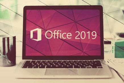 Как выглядит новый Office 2019